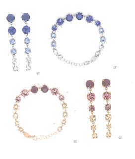 2d3b72781dd6 EL mejor catálogo de joyería en plata con cristales Swarovski en Relojería  Brera Todo tipo de pendientes