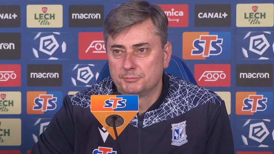 Maciej Skorża przed meczem z Lechią Gdańsk | foto: YouTube / Lech Poznań