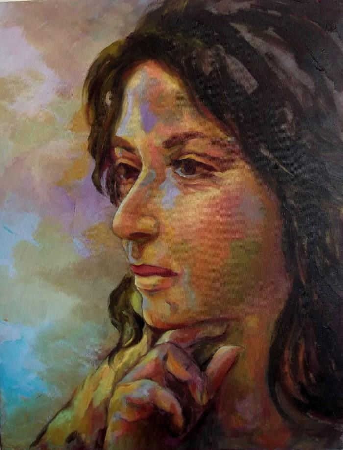 Египетский художник. Eman Hakim