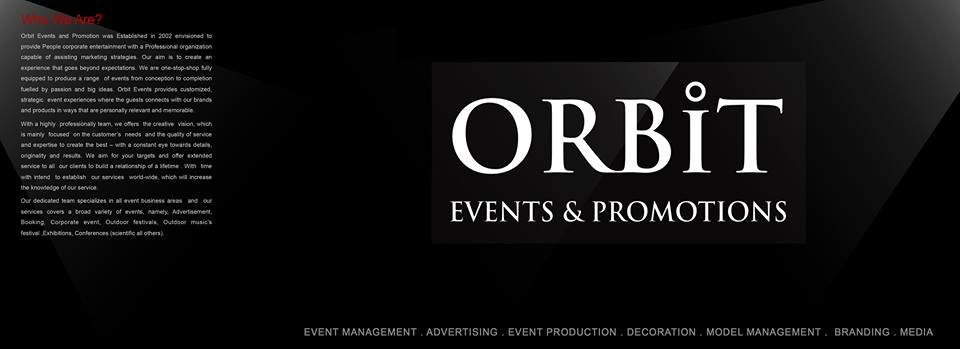 Orbit Events and Promotions, Dubai