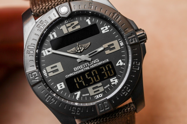 Hands-On: Breitling Aerospace Evo Night Mission Watch Replica