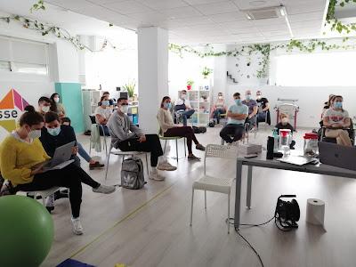 Alumnos durante el seminarios