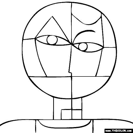 Arte para niños: Dibujos de Paul Klee para pintar y colorear