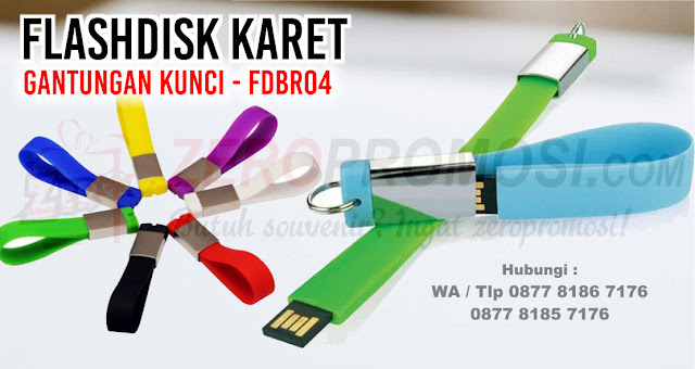 Rubberchain and metal usb, fdbr04 - USB Karet Gantungan Kunci, Flashdisk Karet Gantungan Kunci - fdbr04, USB Keychain Silicon FDBR04