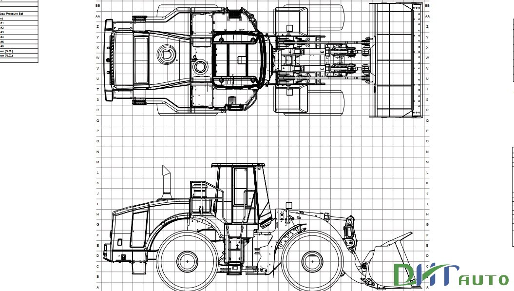 Caterpillar 966H and 972H Wheel Loader Electrical System