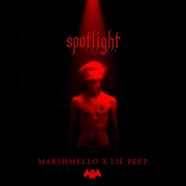 Marshmello & Lil Peep - Spotlight - Single Cover