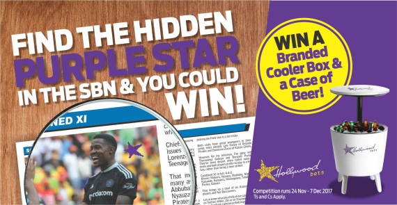 Buy the latest issue of Soccer Betting News for only R10 and enter Hollywoodbets' awesome competition