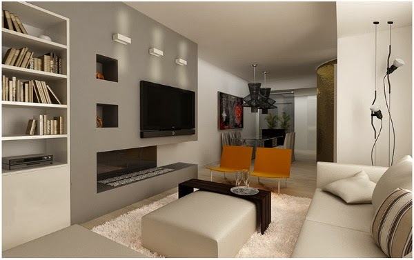 Consigli per la casa e l 39 arredamento imbiancare casa il for Pittura soggiorno moderno