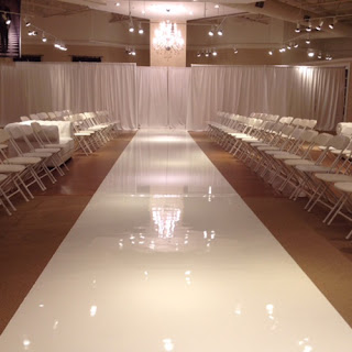 Greatmats fashion runway flooring event floor white