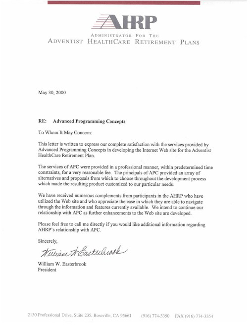 Doc495640 Sample of Recommendation Letter for Employee Free – Sample Reference Letter for Employee