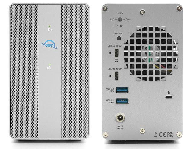 OWC Mercury Elite Pro Dual with 3-Port Hub Review