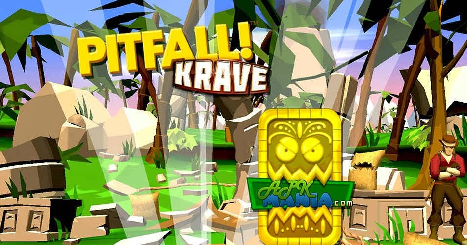 Pitfall Is Renewed on Android with Format Run and Jump