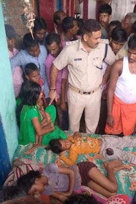 जमुई-बैंक के कर्ज से परेशान युवक ने बच्चे और पत्नी संग की खुदकुशी, लगातार दबाब में था युवक!