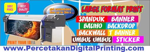 Cibubur Digital Print Percetakan Oke Order Online Bisa Tlp SMS Whatsapp