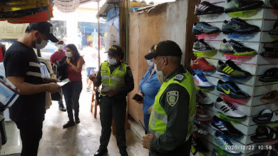 hoyennoticia.com, Policía se tomó al mercado público de Maicao