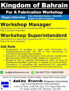 Fabrication Workshop required