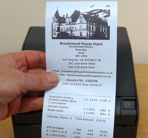 6 Font Struk Kasir Dan ATM Yang Biasa Digunakan