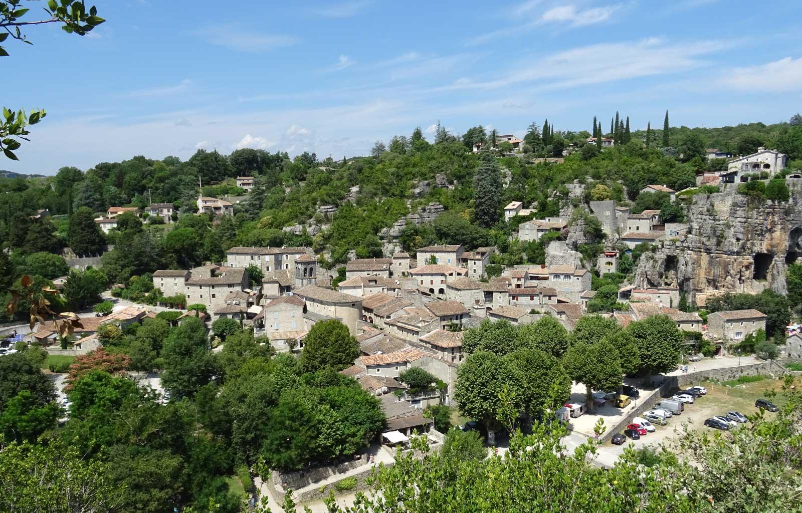 visites bonnes adresses Ardèche village labeaume