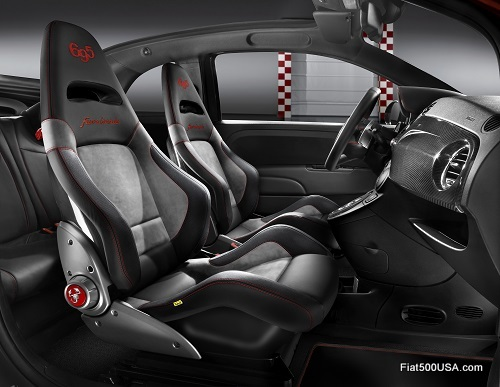 Abarth 695 'Scorpione' interior
