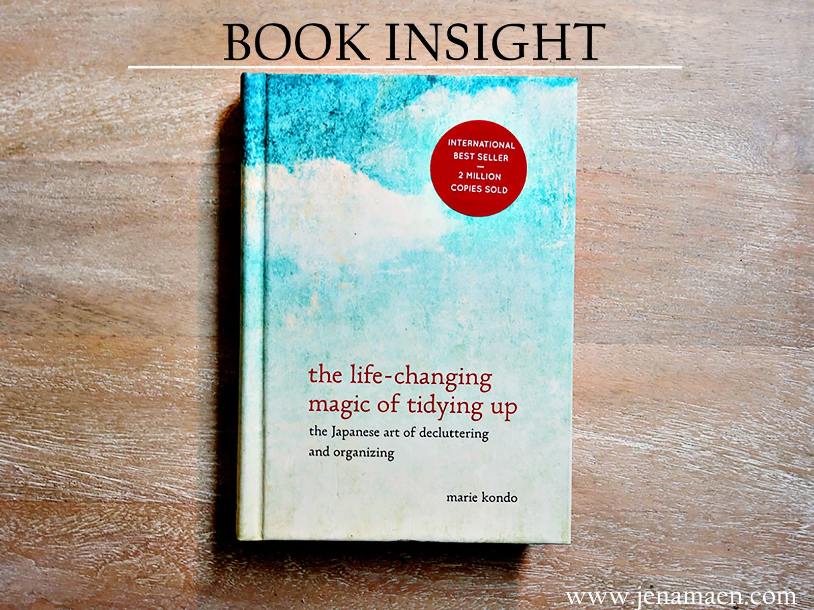 Book Insight: The Life-Changing Magic of Tidying Up
