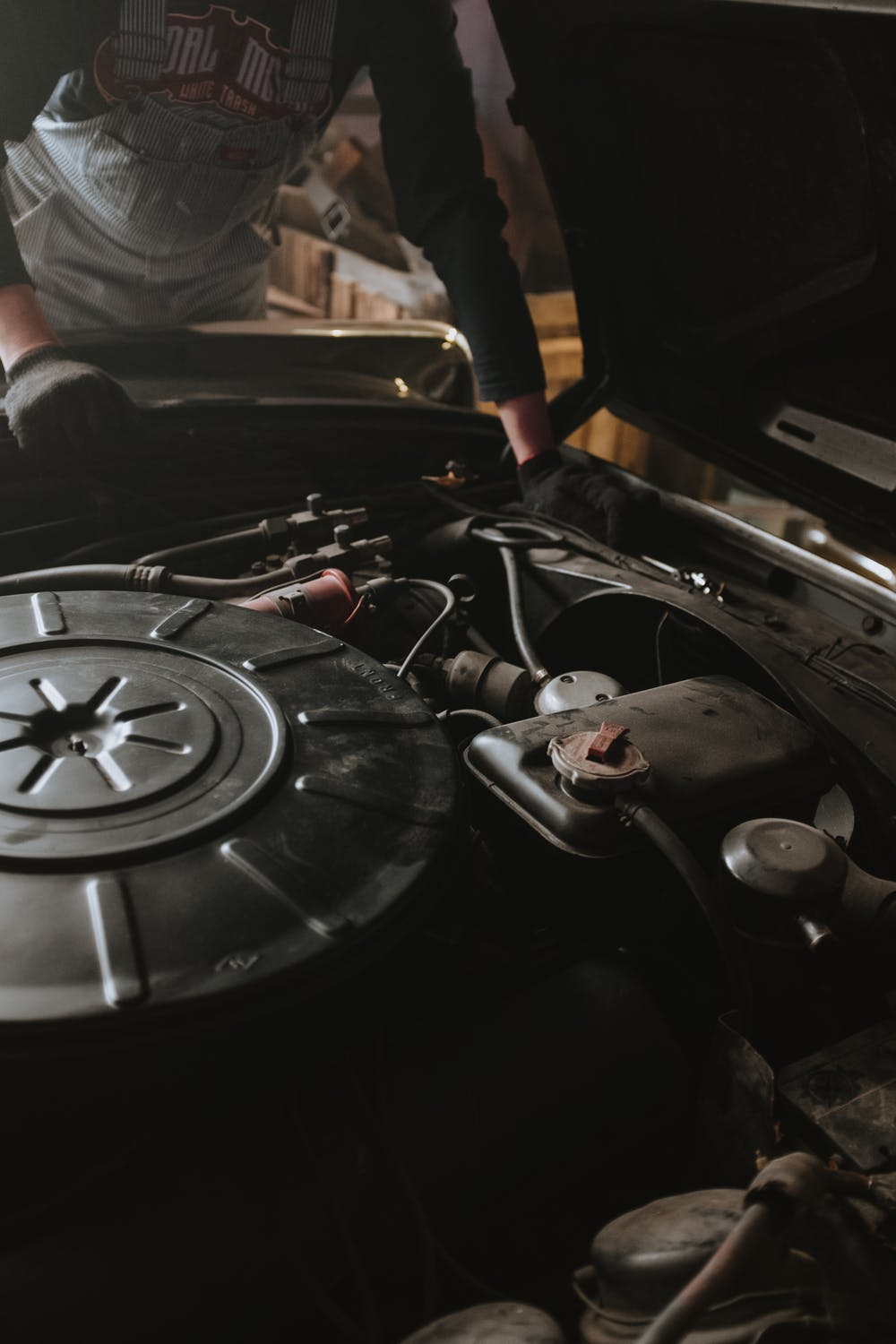 Stock photo of a car engine by cottonbro on Pexels