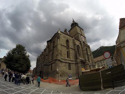 Czarny kościół w Braszowie