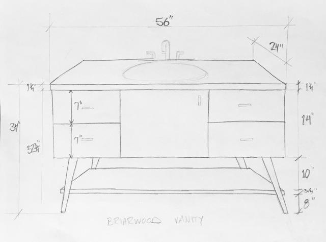 Rosa beltran design - Simply design a bathroom vanity with five steps ...