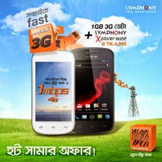 Banglalink-blink-bl-3G-SYMPHONY-Xplorer-W22-3G-Handset-with-1GB-banglalink-3G-data-only-at-4950Tk