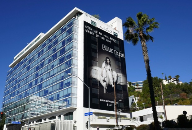 Giant  Billie Eilish 2019 billboard