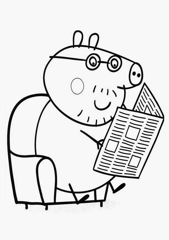 Peppa Pig Para Colorear E Imprimir Catalogo Roberto Verino