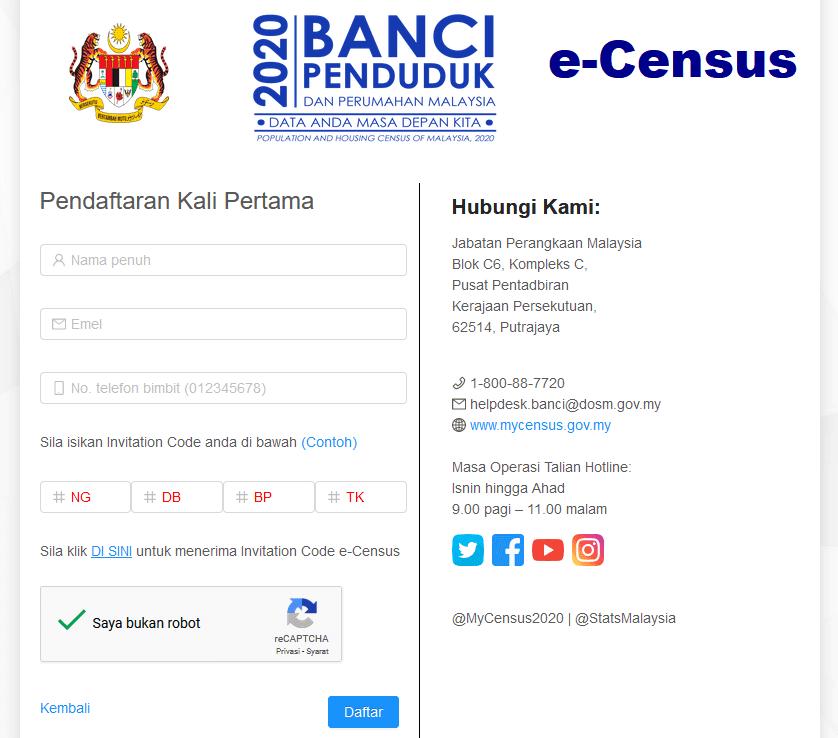 Panduan e-census
