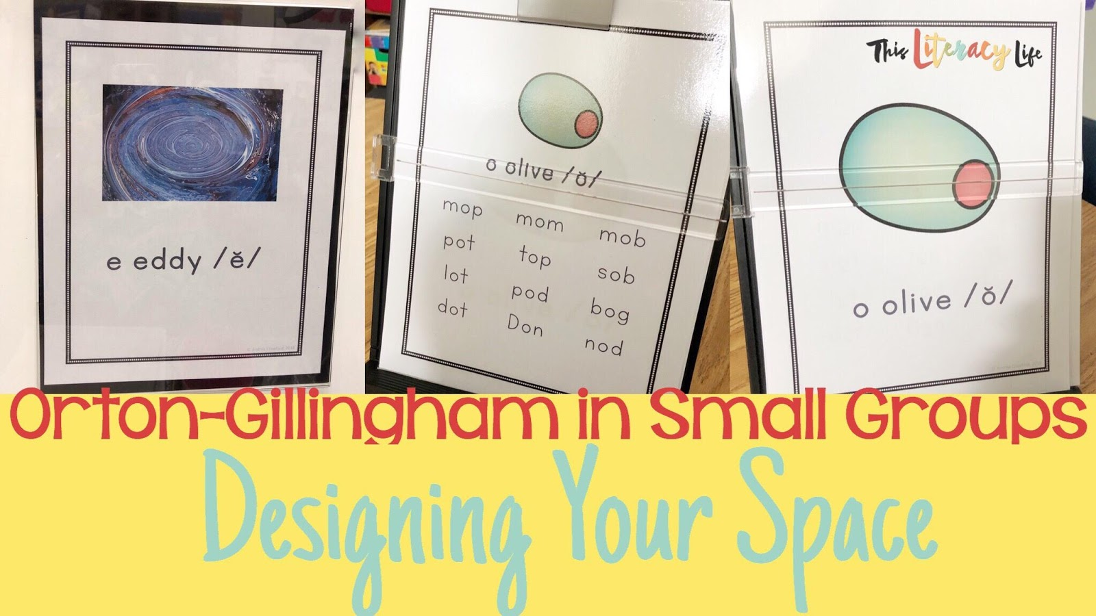 Small spaces can make it tough to display posters for Orton-Gillingham groups. These posters will help as you showcase the rules in a small space.
