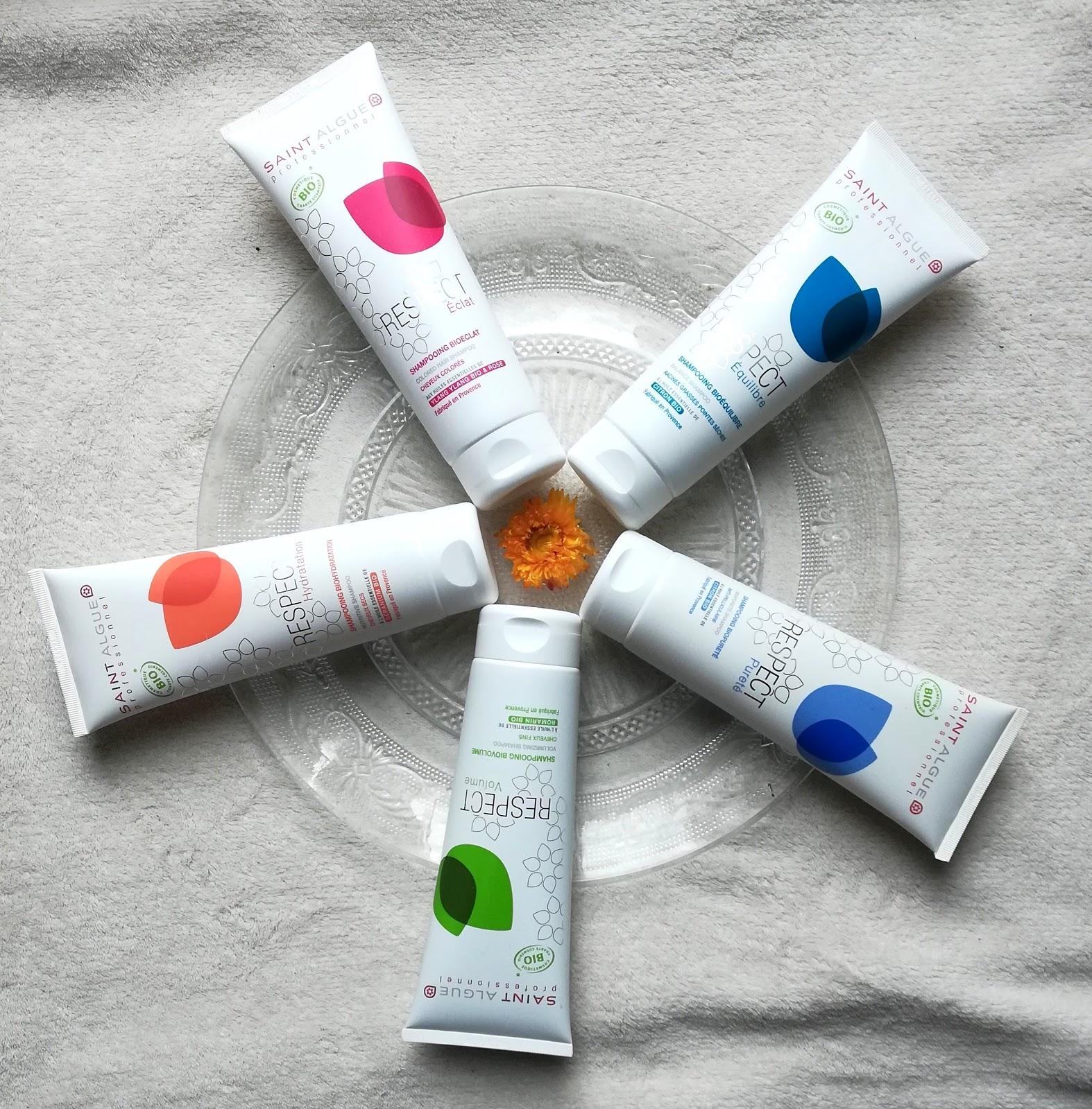 Découverte des shampooings bio SAINT ALGUE