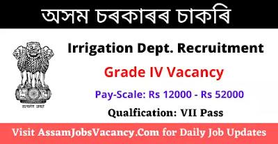 Irrigation Department Job Recruitment 2021