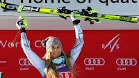 ESQUÍ ALPINO - Lindsey Vonn ya suma ocho Globos de Cristal de descenso