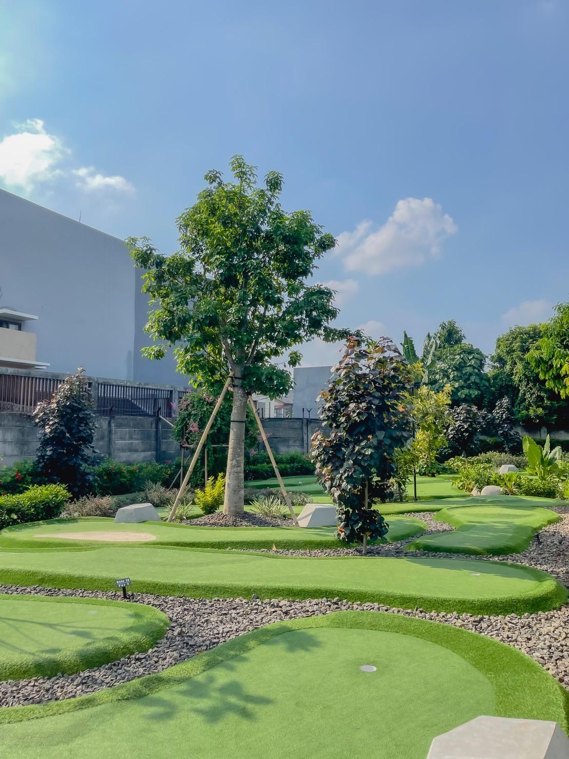 mini golf kolepa bintaro akuchichie