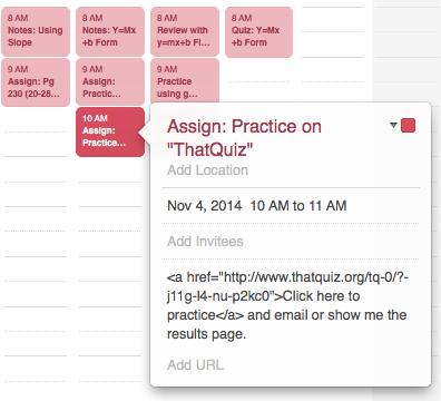 RockyRoer: Lesson Planning with Google Calendar