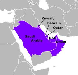 تحميل الخرائط الرقمية لدول مجلس التعاون الخليجي Shapefiles of GCC
