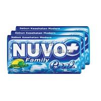 Nuvo Sabun Kesehatan Family Cool 3X76g