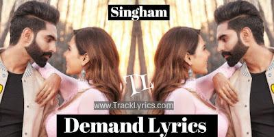 demand-lyrics-punjabi