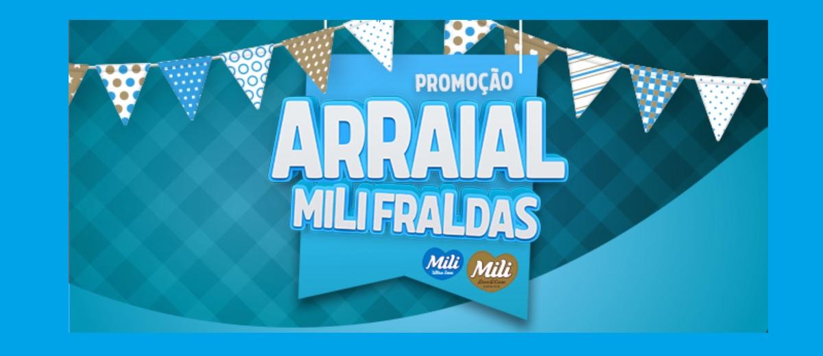Promoção Arraial Mili Fraldas 2021 │ 1 Mês Fraldas Grátis
