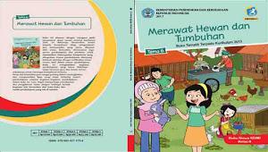 Buku Siswa Kelas 2 SD Tema 6 Merawat Hewan dan Tumbuhan Semester 2 K13 Revisi 2017