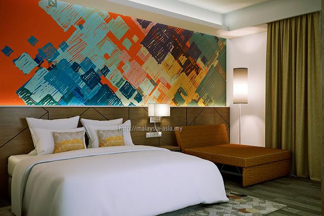 Sunway Big Box Hotel Room