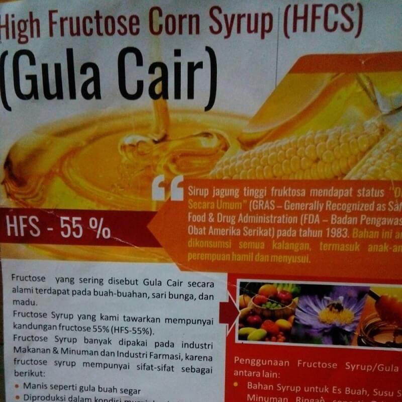 Bahaya Gula HFCS
