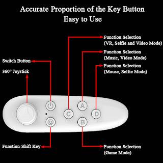 telecomando bluetooth joystick