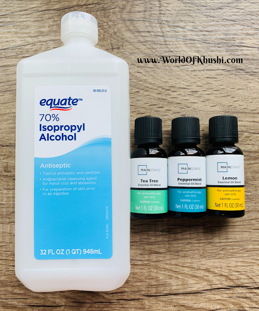 Homemade Disinfectant Solution   DIY
