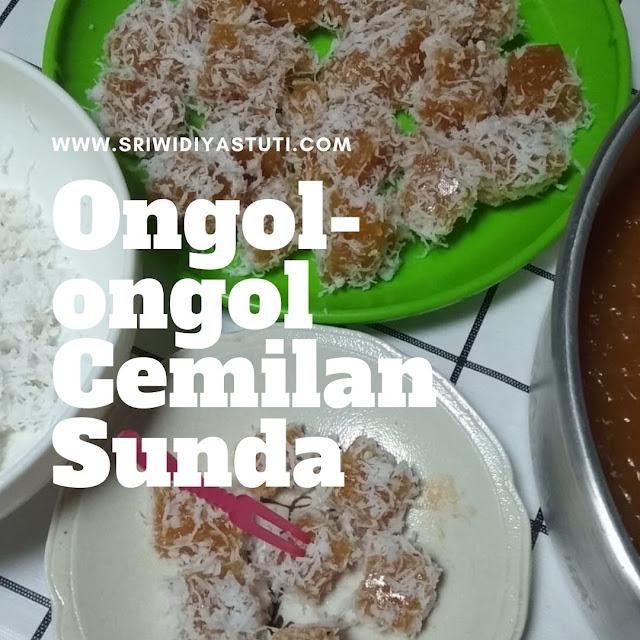 Ongol-ongol Cemilan Tradisional Sunda
