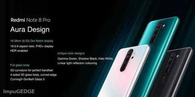 Redmi Note 8 Pro Aura Design