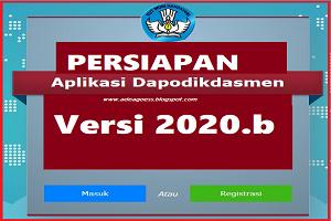Persiapan Pemutakhiran DAPODIKDASMEN Semester 2 Tahun Ajaran 2019/2020