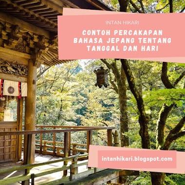Contoh Percakapan Bahasa Jepang (kaiwa) Tentang Tanggal